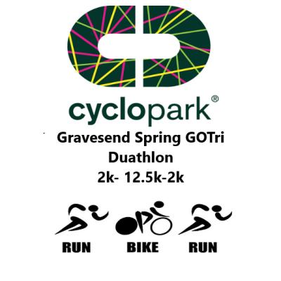 GO TRI Gravesend Cyclopark Spring Duathlon