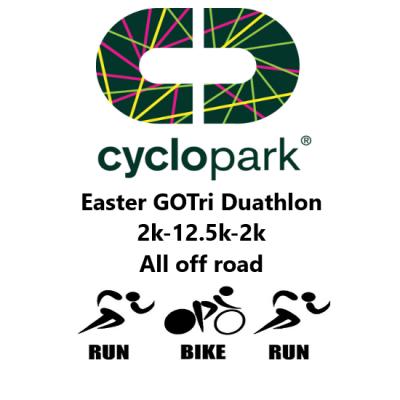 GO TRI Gravesend Cyclopark Easter Duathlon