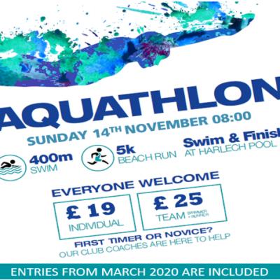 Harlech Aquathlon