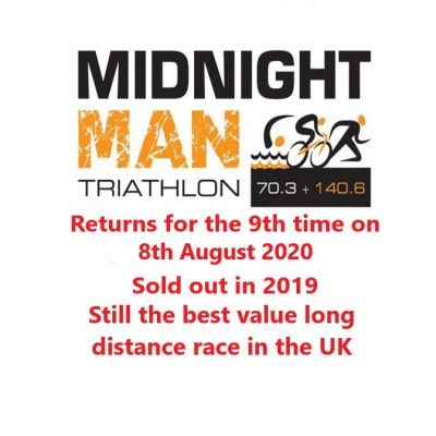 Midnight Man Triathlon Long, Half and Quarter Distance