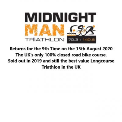 Midnight Man Triathlon Long, Half and Quarter Distance