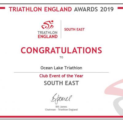 Ocean Lake Triathlon Sprint Race 1
