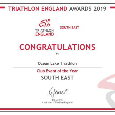 Ocean Lake Triathlon TESE Senior Series Sprint Race