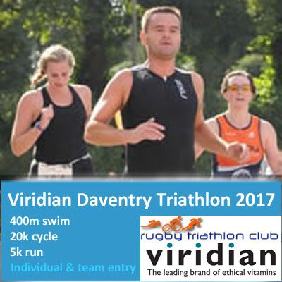 Viridian Daventry Sprint Triathlon 2017